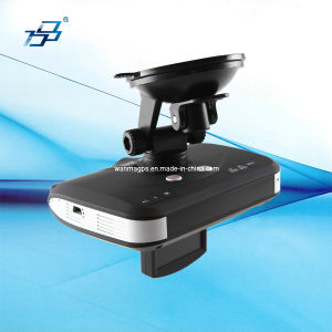 Radar Detector/GPS Voice Reminder for Speed Traps/Car DVR 3in1 Detectable for Strelka Radar (Hot-selling)