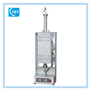 """Compact 1200c Two Heating Zone Vertical Tube Furnace with 1"""" Quartz Chamber pictures & photos"""