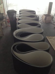 Rubber Conveyor Belt for Material Transport pictures & photos
