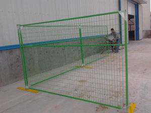 PVC Coated Contruction Temporary Fencing for Sale pictures & photos