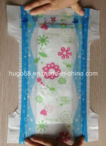 2014 New Beautiful Back Sheet Baby Diaper pictures & photos