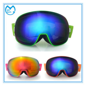 Cheap Womens PC Sports Eyewear Snowboarding Goggles pictures & photos