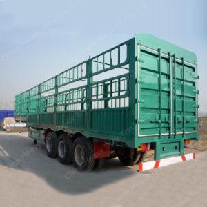 60 Ton Tri-Axle Stake/Fence Truck Semi Trailer pictures & photos