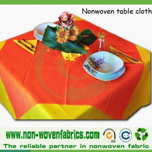 Spunbond Nonwoven Disposable Table Cloth pictures & photos