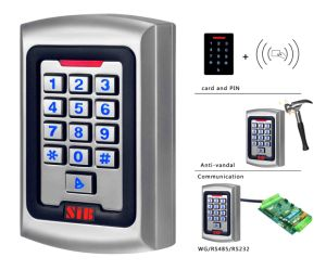 Metal Keypad RFID Card Reader RF004E pictures & photos