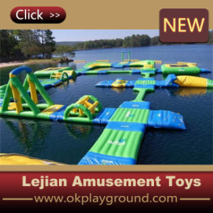 Ce Popular Rainbow Inflatable Slide for Water Park (C1284-2) pictures & photos