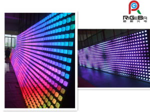 LED Digital Curtain Wall Display Screen/ LED Effect Light pictures & photos