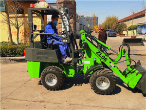 China Hzm Front End Tractor Loader with Tier4 Engine pictures & photos