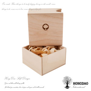 Hongdao Custom Wooden Small Match Crafts Gift Sliding Lid Box Low Price _E pictures & photos