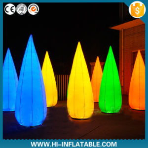 2015 Amazing LED Lighting Inflatable Cone, Tube for Party, Event Decoration, Air Blown Inflatable Tube