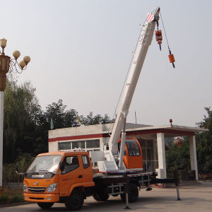 7.0ton Small Construction Crane Mounted Truck pictures & photos