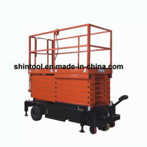 Sjy0.5-11 Scissor Type Elevationg Platform with Puiling Device pictures & photos