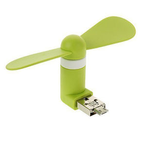 Promotional Gift Hot Sale Mini USB Fan for Computer or Power Mobile Power Supply pictures & photos