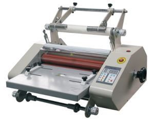 Improved New A3 Size Electric Single Side Roll Laminator (FM360S) pictures & photos
