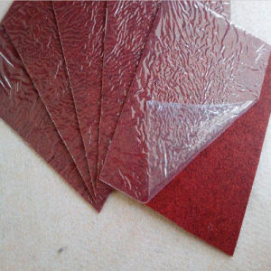 Polyester Red Carpet with Transparent Coated Film pictures & photos
