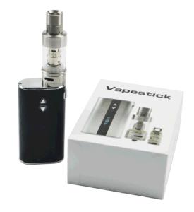 E Cigarette Mod Kit Temperature Controlled 50W Vaporizer Box Mod Kit