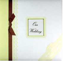 "12""X12"" Craft Handmade Wedding Scrapbook Album pictures & photos"