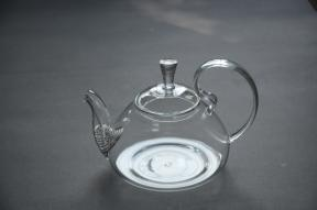 Promotional Tea Drinking Glass Teapot with Infuser, Infuser Glass Teapot, Borosilicate Glass Teapot pictures & photos
