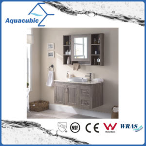 Plywood Bathroom Furniture Vanity in Oak (ACF8902) pictures & photos