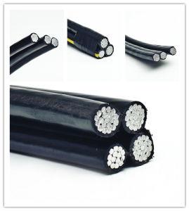 Aluminum Duplex/Triplex Service Drop Cable XLPE Insulation ABC Cable 0.6/1kv pictures & photos