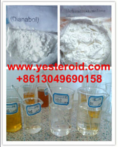 Dbol/ Dianabol 50mg/Ml Oral Steroid Powders for Muscle Building