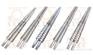 Conical Twin Screw and Barrel for Extruders