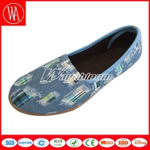 Fashion Women Slip-on Canvas Comfort Shoes pictures & photos