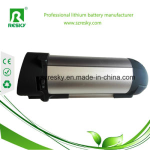 Bottle Type 36V 10ah Lithium Battery for E-Bike