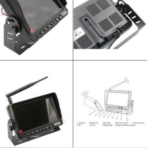 Professional Designed for Forklift Digital Wireless Monitor Camera System pictures & photos
