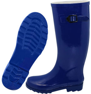 Newdesign OEM Men′s Plastic Rain Boot pictures & photos