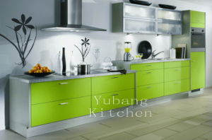 Hot Sale High Glossy Wood Kitchen Cabinet (#M2012-28) pictures & photos