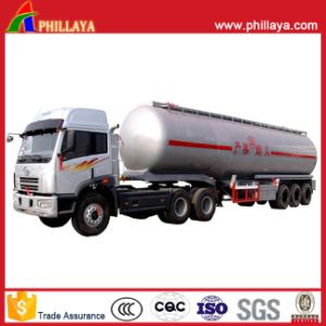 Oil Stainless Steel Tank/Fuel Tanker Semi Trailer with Volume Optional pictures & photos