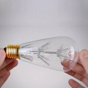 LED Fireworks Filament Starry Bulb Light pictures & photos