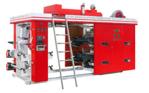 High Speed 4 Color Paper / Label Flexographic Printing Machine pictures & photos