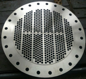 Shell and Tube Sheet, Baffle Plate of S31608 Material