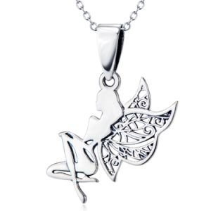 Brand New 925 Sterling Silver Fairy Necklaces Angel Pendant Necklace for Women Elegant Jewelry pictures & photos