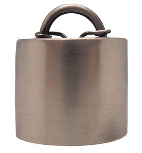 Cow Bell in Silver Plated with Leather Strap Attached pictures & photos