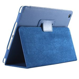 Magnetic Auto Flip Litchi Leather Case for iPad 3/4
