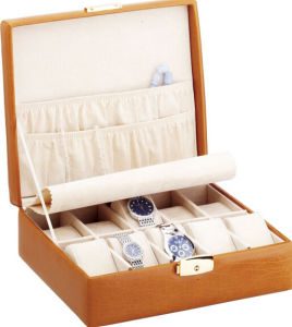 Luxury Cowhide Watch Display Gift Box pictures & photos
