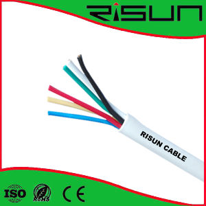Hot Selling 4 Cores Unshielded Alarm Cable with Good Performance pictures & photos