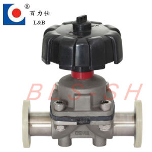 Stainless Steel 316L Sanitary Diaphragm Valve pictures & photos
