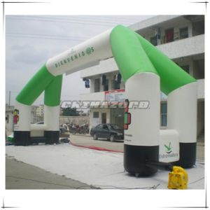 Popular Sale Triangle Shaped Inflatable Arch Door with Customized Logo pictures & photos