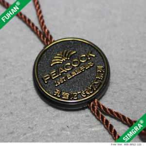 Directly Factory Single Side Custom Plastic Gold Tag pictures & photos