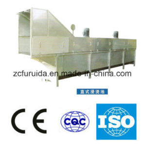 Chicken Feather Scalding/Burning/Ironing Machine for Slaughtering Equipment pictures & photos