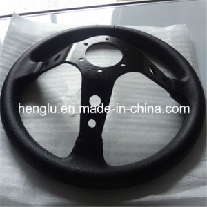Flat Racing Auto Steering Wheel (HL1001688) pictures & photos