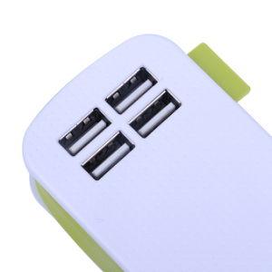 EU Plug 4 Ports AC Power Strip Travel USB Charger pictures & photos
