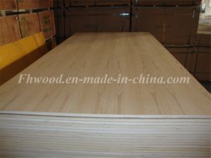 Ash Veneered Plywood for Decoration and Furniture pictures & photos