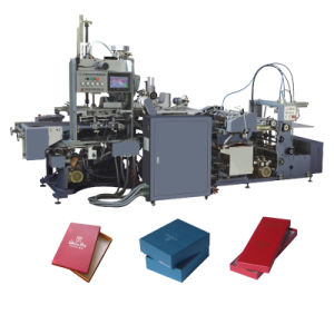 China Top Selling Paper Box Making Machine pictures & photos