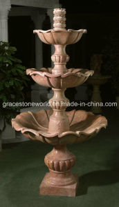 Carved Stone Fountain (GS-F-110) pictures & photos