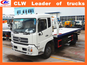 Dongfeng 4*2 Sliding Platform Street Wrecker 6 Wheel Recovery Truck pictures & photos
